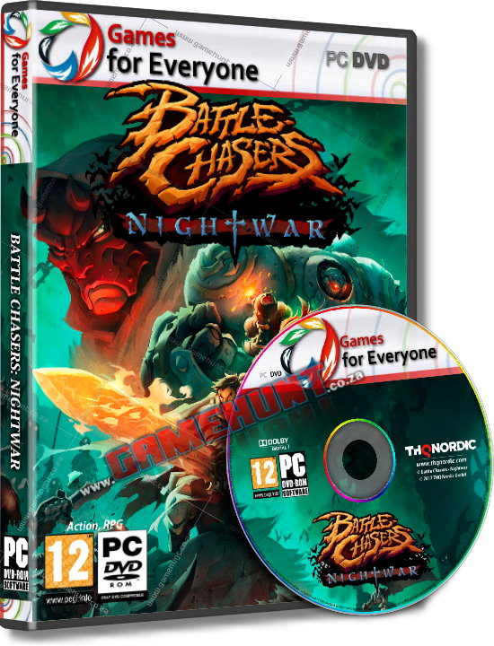 Battle Chasers - Nightwar - Click Image to Close