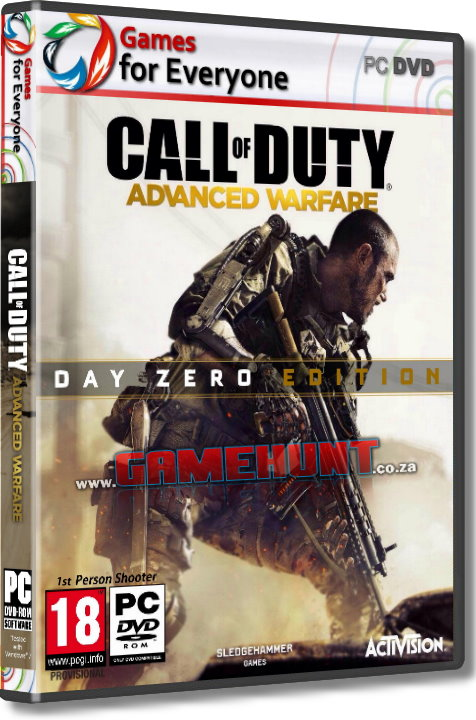 Call of Duty - Advanced Warfare - 5 Disk - Click Image to Close