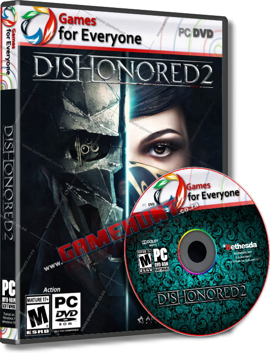 Dishonored 2 - 5 Disk - Click Image to Close