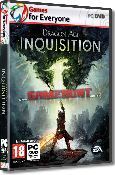 Dragon Age - Inquisition - 3 Disk - Click Image to Close
