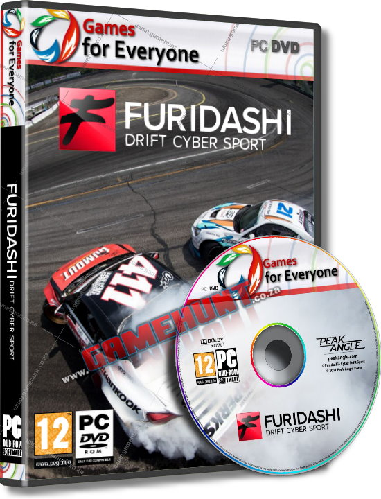 FURIDASHI Drift Cyber Sport - Click Image to Close