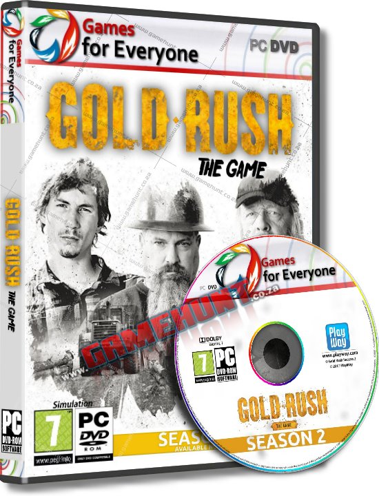 Gold Rush - The Game - Season Two - Click Image to Close