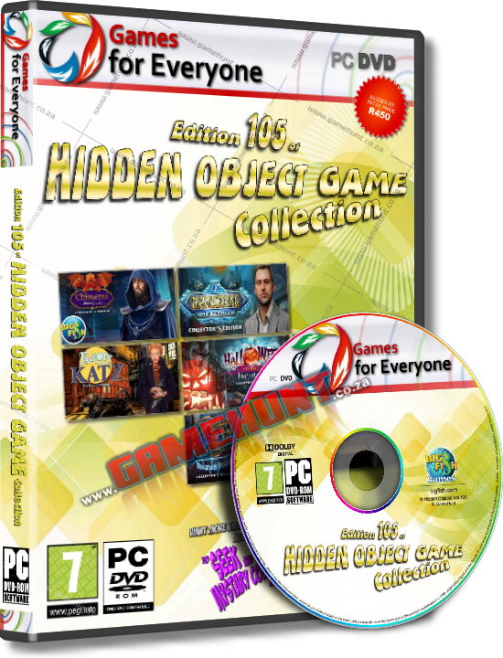 Hidden Object Games Vol.105 - 7in1 - Click Image to Close