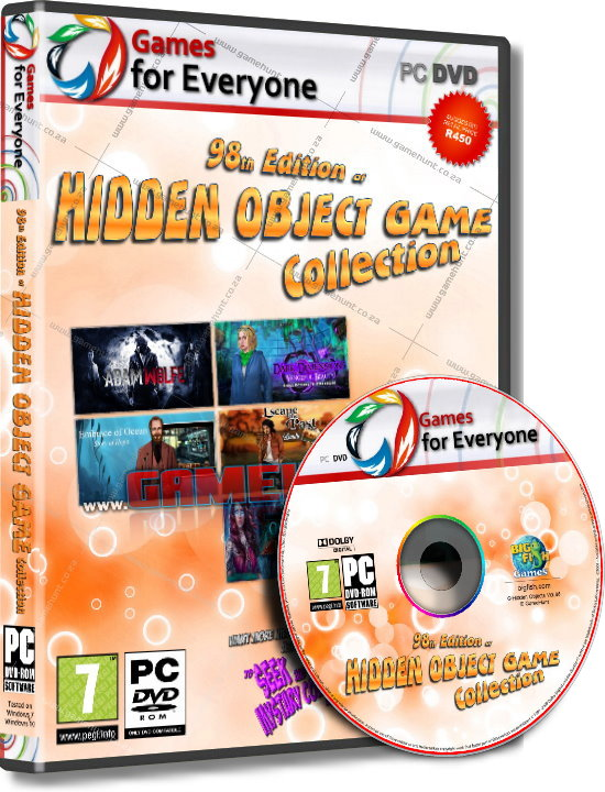 Hidden Object Games Vol.98 - 7in1 - Click Image to Close