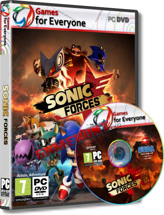 Sonic Forces - Click Image to Close