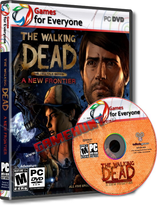 The Walking Dead A New Frontier - 3 Disk - Click Image to Close