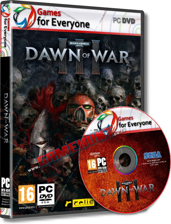 Warhammer 40000 - Dawn of War III - 4 Disk - Click Image to Close