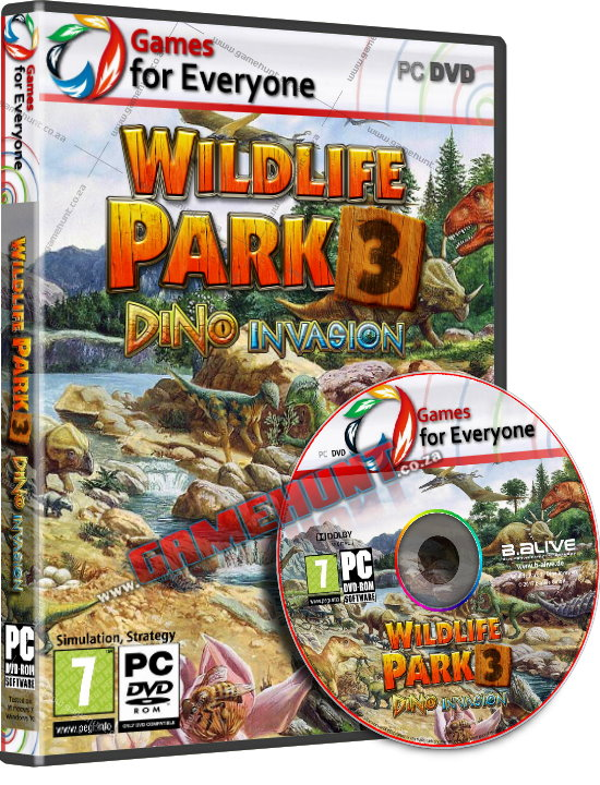 Wildilfe Park 3 - Dino Invasion - Click Image to Close